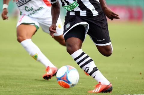 Jogo entre Figueirense e Brusque pela primeira rodada do Campeonato Catarinense