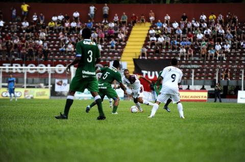Jogo entre Chapecoense e Juventus pela Campeonato Catarinense