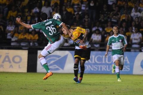 Criciúma x Palmeiras no Heriberto Hülse