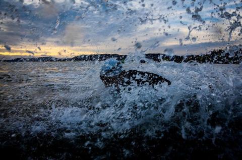 Veja as fotos da 14ª edição do Ironman Brasil Florianópolis