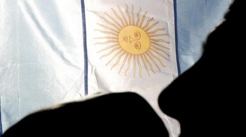 Argentinos acompanham o jogo da Copa do Mundo em Canasvieiras