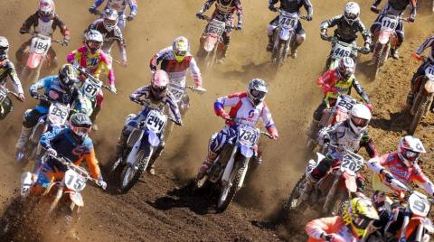 2ª etapa do Campeonato Brasileiro de Motocross, em Pedra Bonita