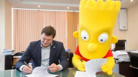 Bart Simpson é contratado como reforço do Zenit