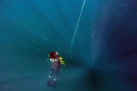 Aventura SC - Mergulho em apneia na Ilha do Xavier