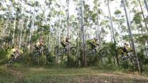 Antes deste salto, atletas chegam a atingir até 70 km/h