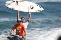 Flávio Nakagima foi o campeão da primeira etapa do OI SuperSurf
