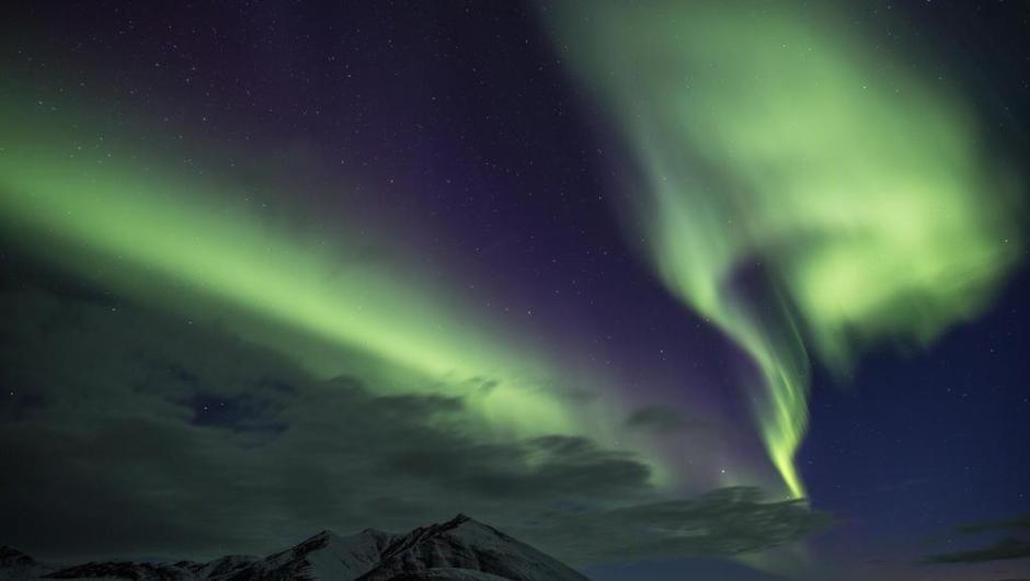Aurora Boreal no Alasca, Estados Unidos