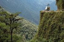 Estrada da morte, na Bolívia