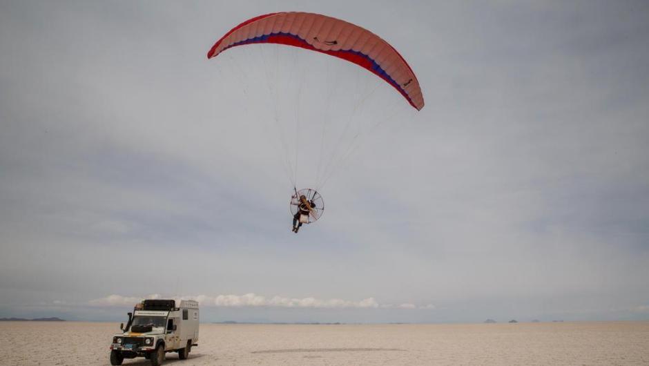Salar de Uyuni , na Bolívia