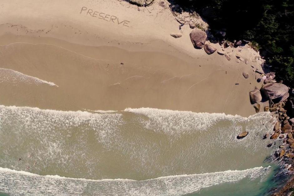 Preserve as praias
