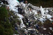 Segundo o site Flight Radar, a aeronave perdeu bruscamente altitude e velocidade às 0h50min
