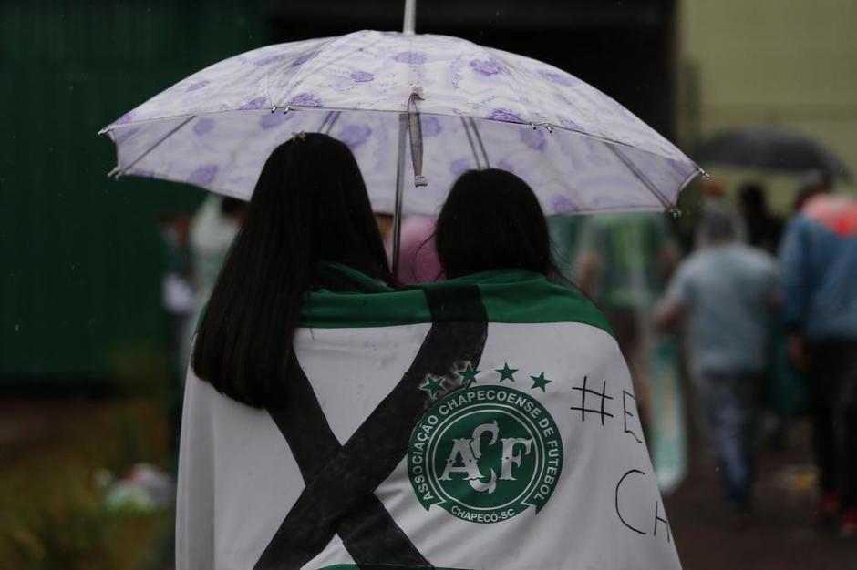 Na Arena Condá, torcida prestou homenagens e se despede das vítimas do acidente da Chapecoense