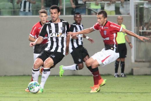 Repleto de reservas, JEC é derrotado pelo Atlético-MG em Belo Horizonte ERWIN OLIVEIRA/FRAMEPHOTO